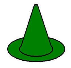 Pylon_grün - grün, Pylon, Markierungskegel, Hütchen, Kegel, Sport, Sportgerät, Spielabgrenzung, Spielfigur, Markierung, markieren, Kegel, Kreisring, Mathematik, Körper