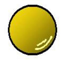 Gymnastikball gelb - Gymnastikball, gelb, Sport, werfen, spielen, rollen, Sportgerät, rund, Ball, Gymnastik, Kugel, Volumen, Körper, Mathematik