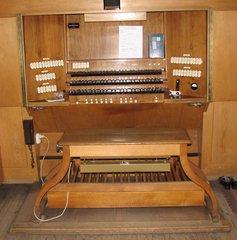 Orgel Spieltisch #1 - Orgel, Kirchenorgel, Tastatur, Manual, Register, Kirche